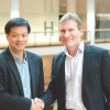 Spokesperson and Chief Consultant at AWT System Terrence Fok with Dan Korsgaard, CEO of CCI.
